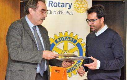 Conferència de José David Muñoz al Rotary Club